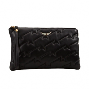 QUILTED CLUTCH ZADIG AND VOLTAIRE