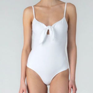 PIMA COTTON TIE FRONT BODYSUIT ATM COLLECTION