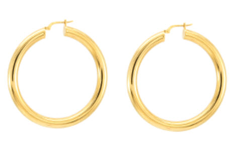 chunky gold hoops vail co clothing boutique