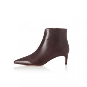Chocolate Charlie Boot Alias Mae Kitten Heel