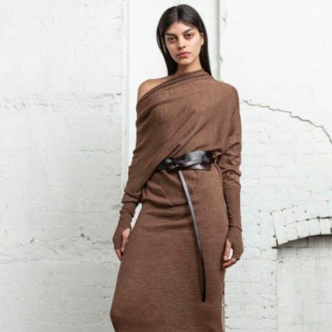 CONVERTIBLE SWEATER DRESS NICHOLAS K