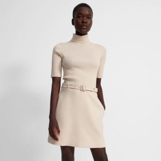 Canvas Dress Utility Wool Theory
