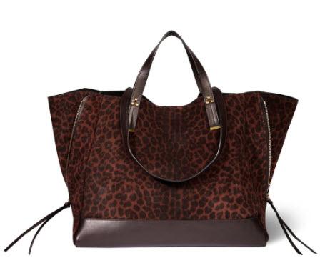 leopard print tote bag Denver boutique shopping