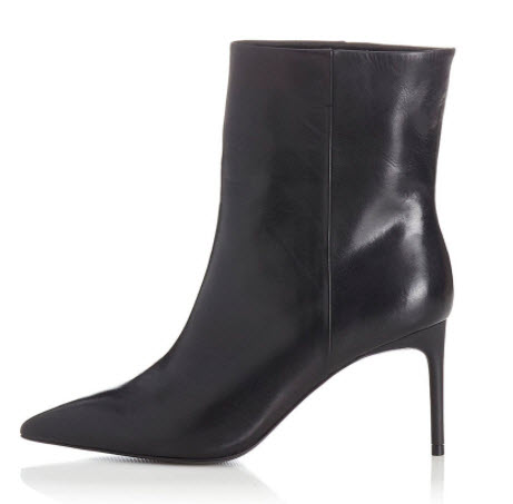 Black ankle booties Denver women's boutique shopping