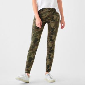 DL 1961 Florence mid-rise ankle length stretch skinny