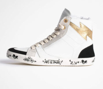 zadig & voltaire sneaker at denver clothing boutique