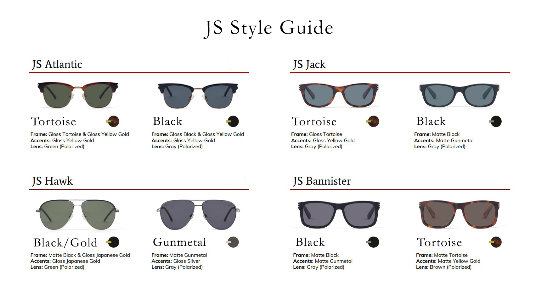 Shop Jack Stegeman Sunglasses at Garbarini Denver