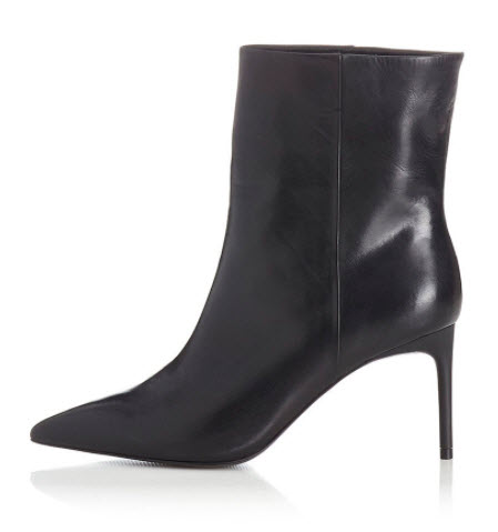 designer heeled ankle booties clothing boutique denver co