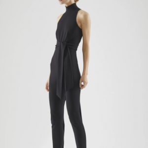 Halston Dea Milano Knit Jumpsuit