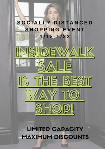 Insidewalk Sale Garbarini Denver