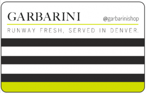 Garbarini Gift Card