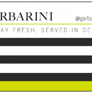 Garbarini Gift Card