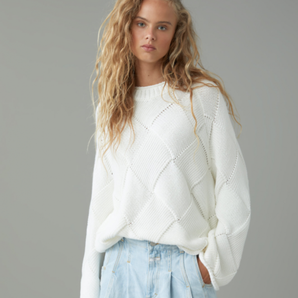 Closed Brand Knit Cotton Sweater