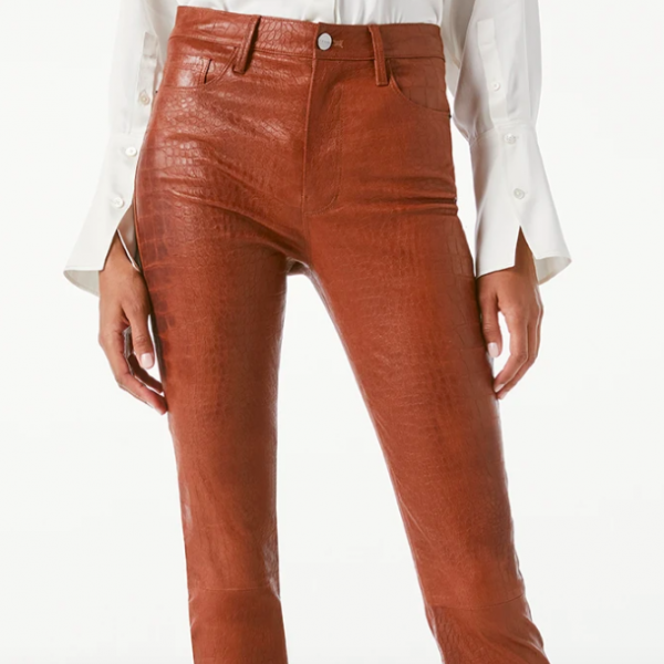 FRAME Le Sylvie Leather Pants