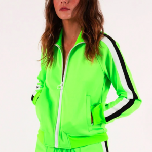 TRACK SUIT JACKET LIME PAM GELA