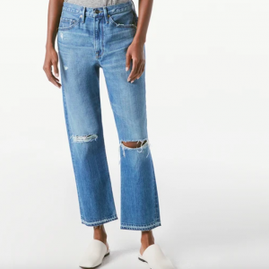 Heritage Piper Released Hem Peralta Rips Frame Jeans