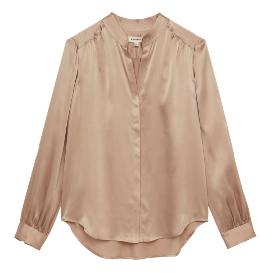 BIANCA SILK BLOUSE L'AGENCE
