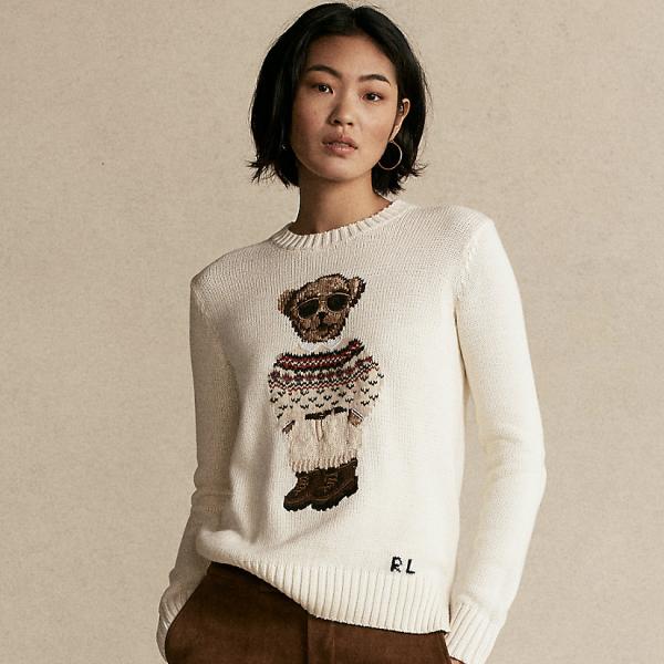 Polo Bear Crewneck Sweater