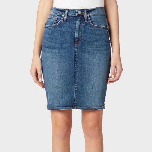 Hudson Centerfold High-Rise Skirt