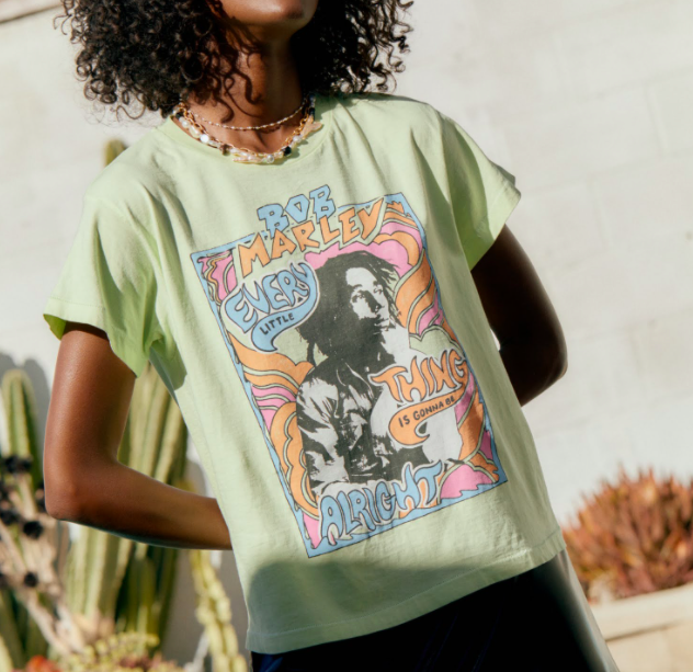 DAYDREAMER BOB MARLEY Graphic Tee Denver Clothing Boutique