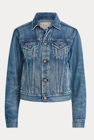 Ralph Lauren denim jacket denver clothing boutique