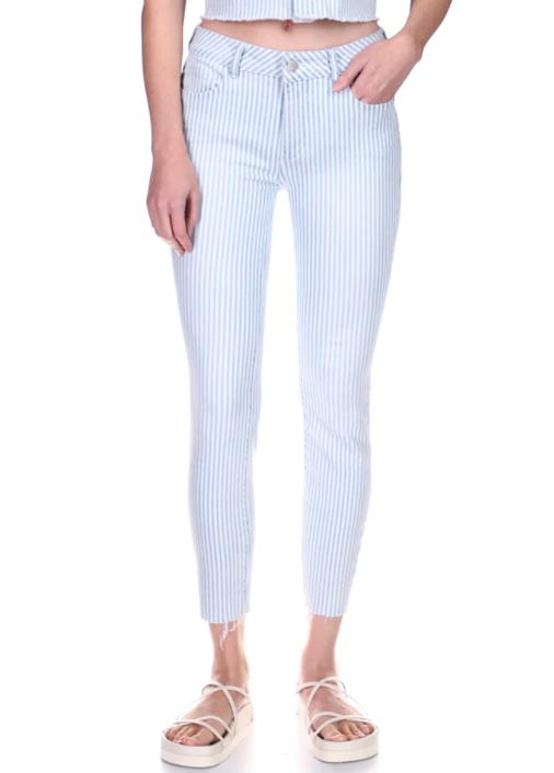 DL 1961 Mid Rise Crop Denim Jeans