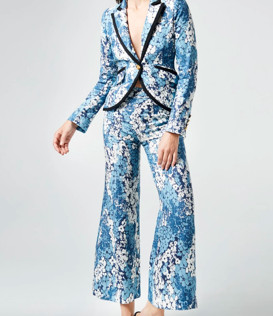 Smythe Floral Suit Denver Clothing Boutique