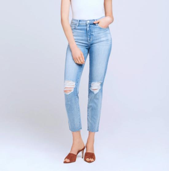 L'AGENCE Straight leg denim denver women's clothing boutique