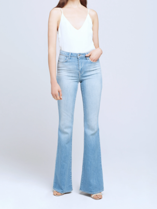 L'AGENCE BELL HIGH RISE FLARE