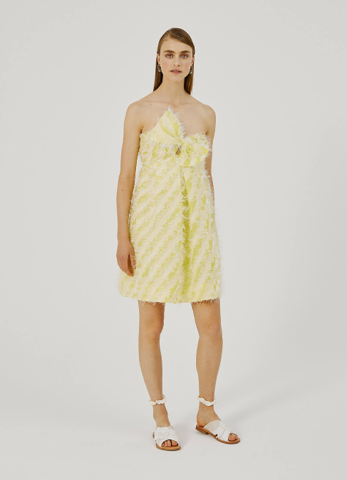 BEATRICE B SHORT FIL DRESS WITH BOW