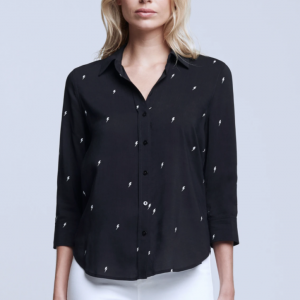 L'AGENCE CAMILLE 3/4 SLEEVE BLOUSE