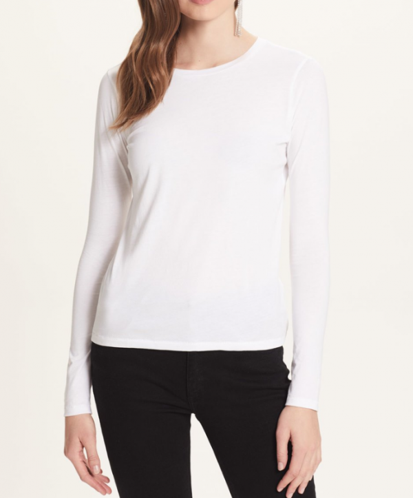 GOLDIE LONG SLEEVE CLASSIC JERSEY TEE
