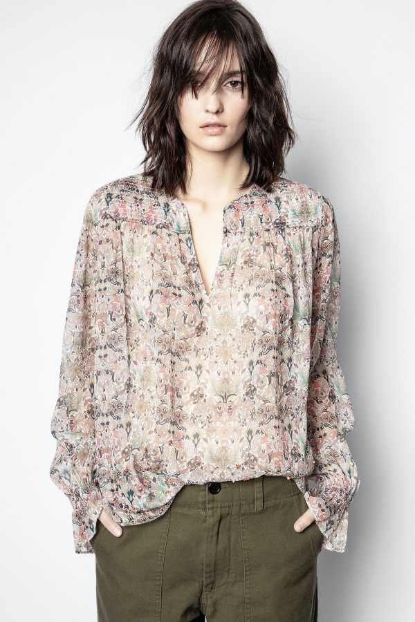 ZADIG AND VOLTAIRE TAYA BLOUSE