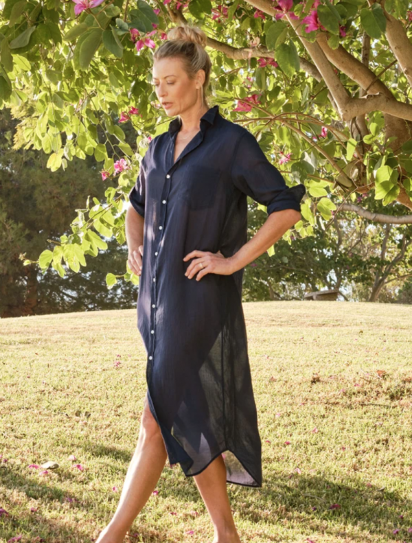 FRANK & EILEEN RORY DRESS IN VOILE