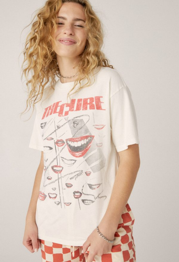 DAYDREAMER LA THE CURE FADED SMILES WEEKEND TEE