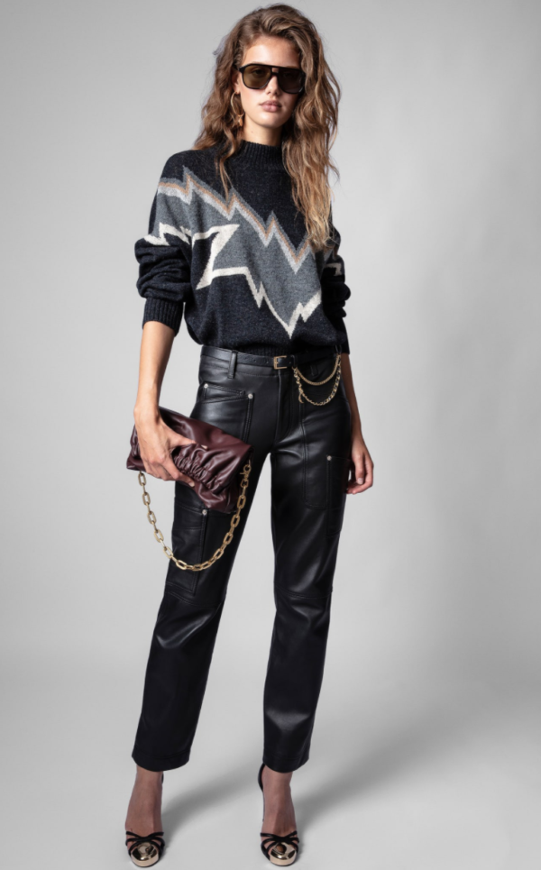 ZADIG AND VOLTAIRE BONNIE SWEATER
