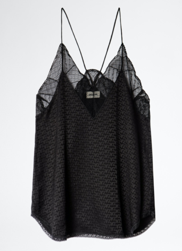 ZADIG AND VOLTAIRE CHRISTY CAMISOLE