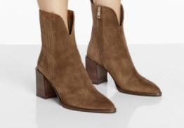 Designer Suede Boot Denver Boutique