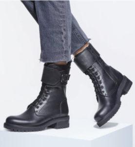Designer Leather Booties Denver Boutique