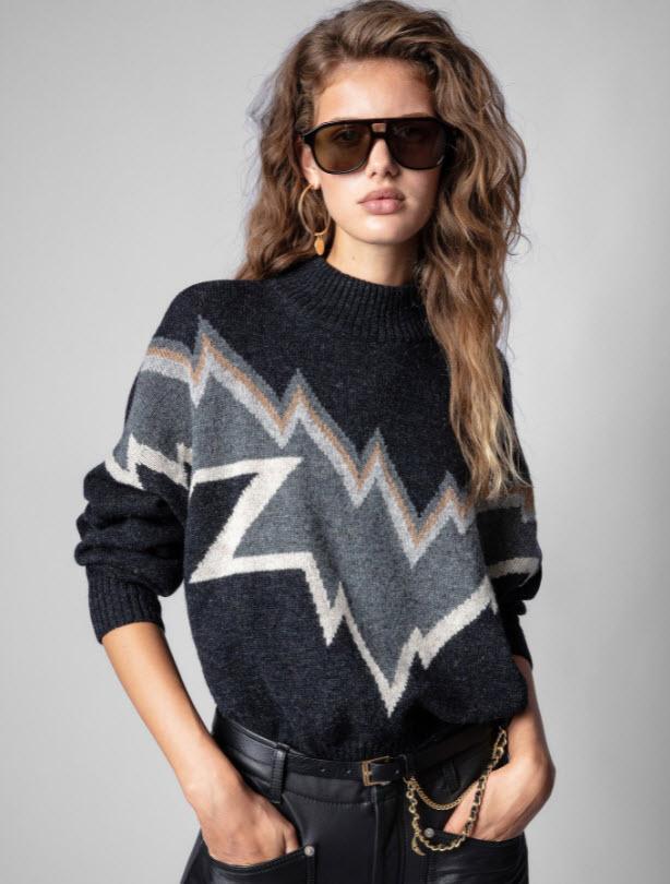 zadig&valtaire sweater Garbarini Cherry Creek CO Boutique