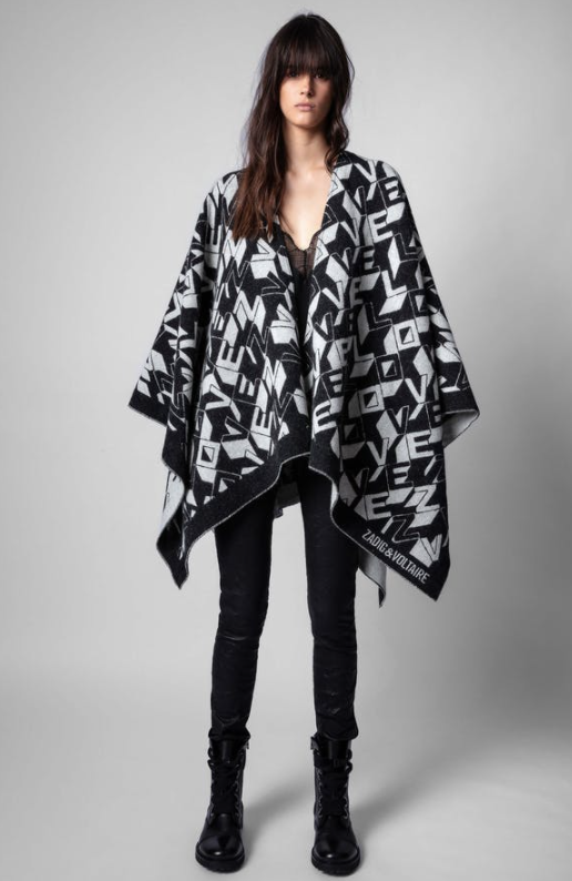 ZADIG AND VOLTAIRE ELLIOT SCARF
